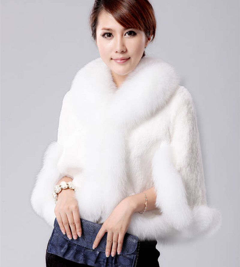 Online Buy Wholesale fur cape coat from China fur cape coat