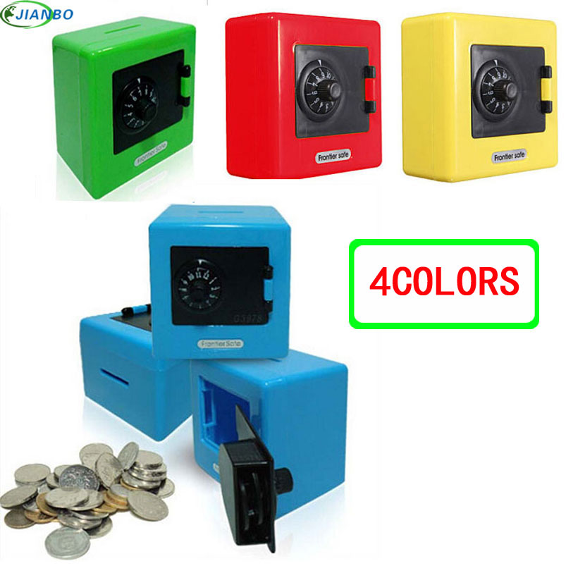 NEW Candy Colors Coin Safe Box Money Piggy Bank Security Electronic key Password Chewing Cash Box Deposit Machine Gifts For kids funny automatic stole coin bombay cat money box gifts for kids