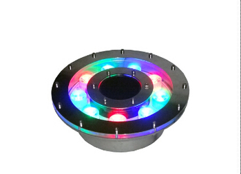 IP68 edelstahl 15 watt high power led brunnen lampe 12 v 3-in-1 rgb led-unterwasserbeleuchtung mit dmx512 led control 10 teile/los