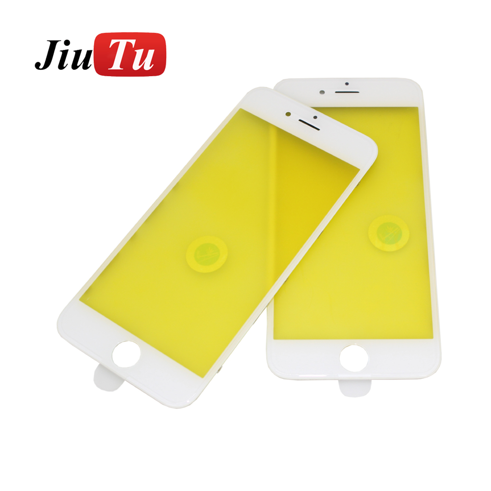 Jiutu 10pcslot Glass With Bezel Frame Cold Press For iPhone 6G6 Plus 6S6S Plus (3)