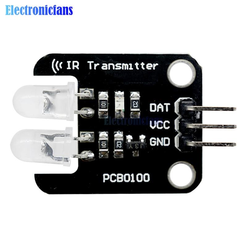 5V 2 Channel Digital Livello di Costruzione Elettronica Blocchi a Due Vie Ir Modulo Trasmettitore a Raggi Infrarossi per Arduino 28*22mm