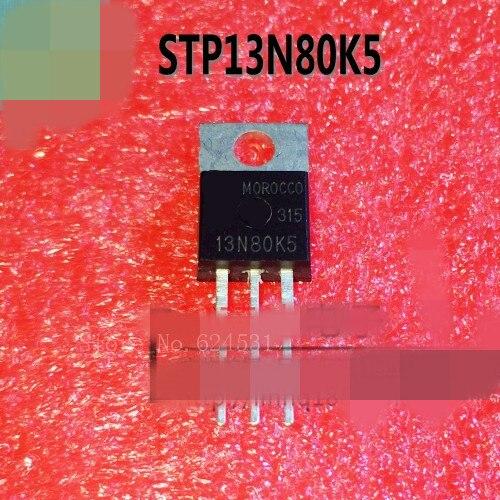 Hot spot 10pcs/lot STP13N80K5 13N80K5 MOSFET in stock
