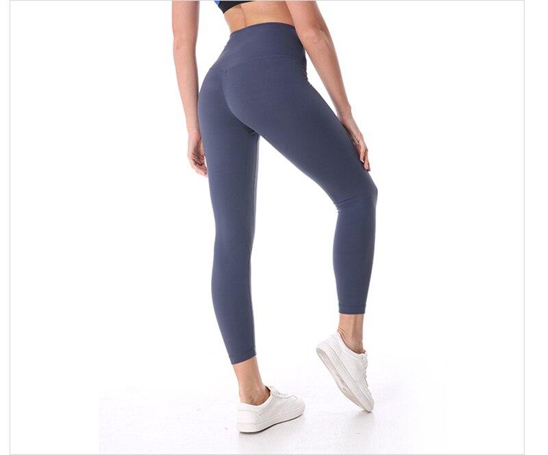 Calças de Yoga Mulheres De Cintura Alta