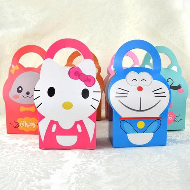 50 Pcs Set Minion Halo Kitty Doraemon Kartun Baby Shower