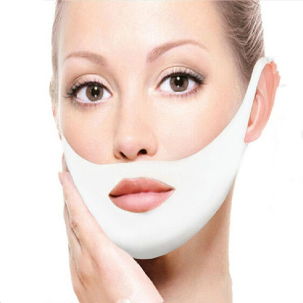 Facial Slimming Band Thin Masseter Double Chin Reduced Face Bandage Belt Women V-face Anti Cellulite Sleeping Face Shaper Tool