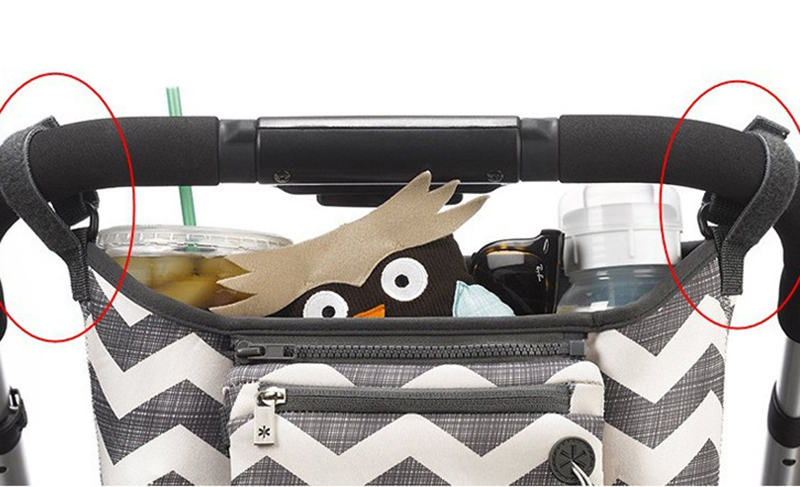 Baby Stroller Bag Organizer Toddler Nappy Diaper Bags Multifunction Stroller Holder Mummy Bag For Baby Care Accessories BB5100 (8)