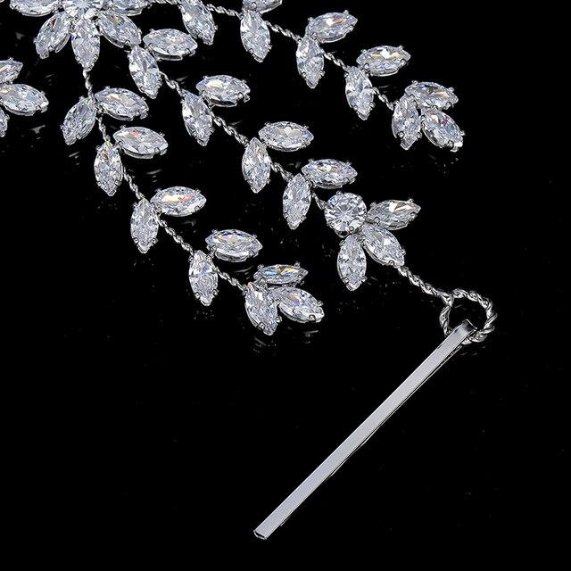 Accessoires de cheveux de mariée bijoux fait à la main de luxe Design classique pour les femmes fête de mariage anniversaire BC4854 Haar Sieraden Bruiloft