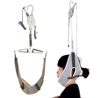 Pain Relief Hanging Neck Stretcher Neck Cervical Traction Stretch Gear Brace Kit