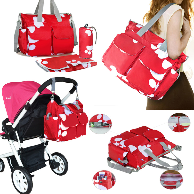 Fashion Diaper Bag Large Baby Bags For Mom Maternity Baby Changing Stroller Bag Designer Baby Stuff Organizer Handbag