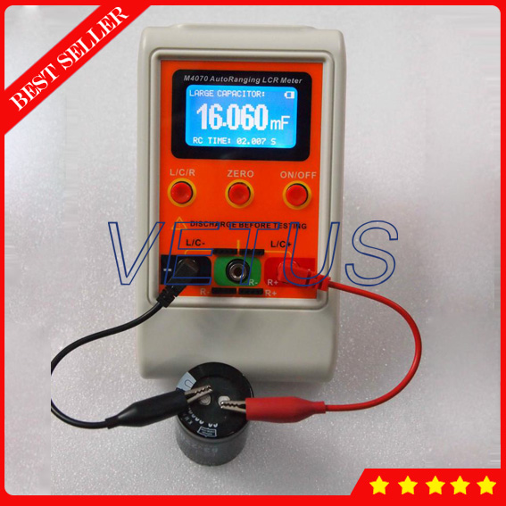 AutoRanging Handheld China LCR Meter M4070 with Digital Capacitance Inductance tester uyigao ua78d digital multimeter resistance capacitance inductance lcr multi meter tester with backlight