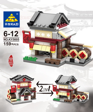 KAZI 5005 Zhonghua Street Building Block Sets Educational font b Toys b font For Children