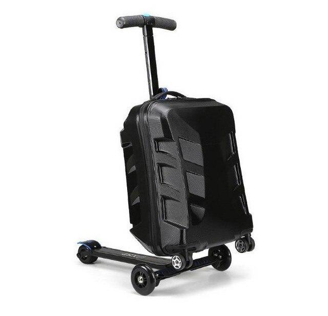 lenregistrement /à la/éroport 21 pouces l/école Scooter Valise Planche /à roulettes Valise trolley Bo/îte Convient pour le voyage