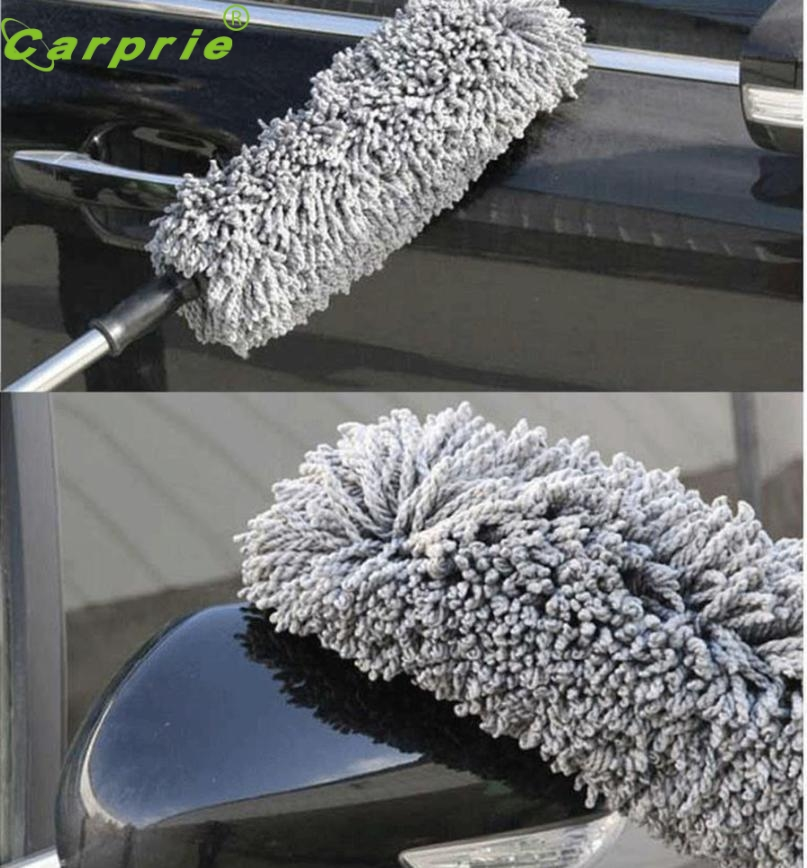 Brush Wash Tool Round Car Cleaning Dusting Large Microfiber Telescoping Duster Drop Shipping jul25