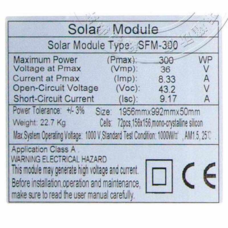 Bir Sınıf 12 v 10 w Modulo Güneş Monokristal 5 Adet güneş panelleri 50 w Güneş pil şarj cihazı Güneş Kamp Karavan Araba ışık LED