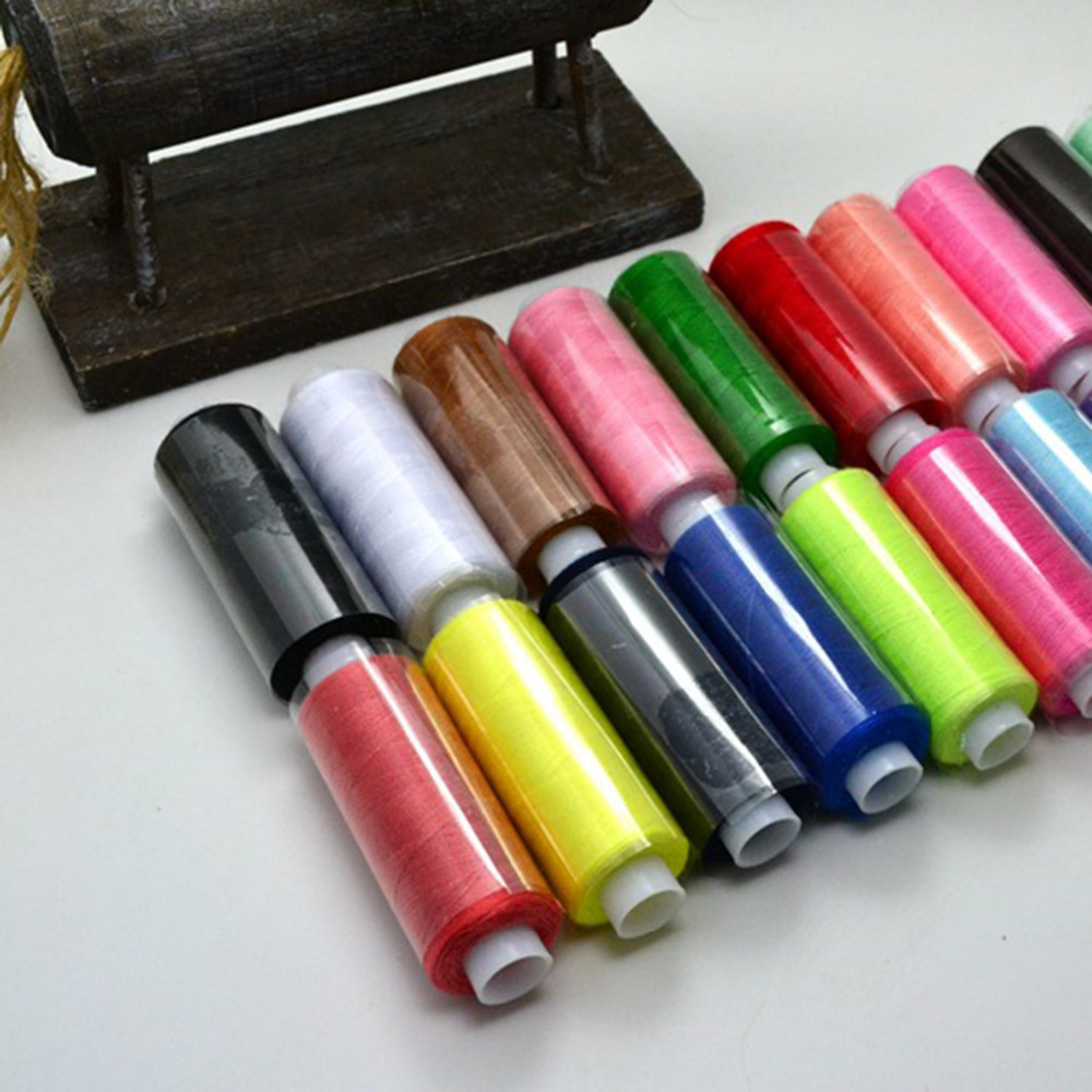 25 x 100/% Sewing All Purpose Pure Cotton Spools Threads Best Assorted Colours