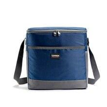Портативный Термальность обед мешок для женщин мужчин многофункциональный большой Ёмкость для хранения сумки пикник изоляции сумка Cooler