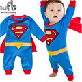 Retail 0-3years long-Sleeved Baby boys romper cotton cool kids Infant jumpsuits Clothing fashion spring fall underwear