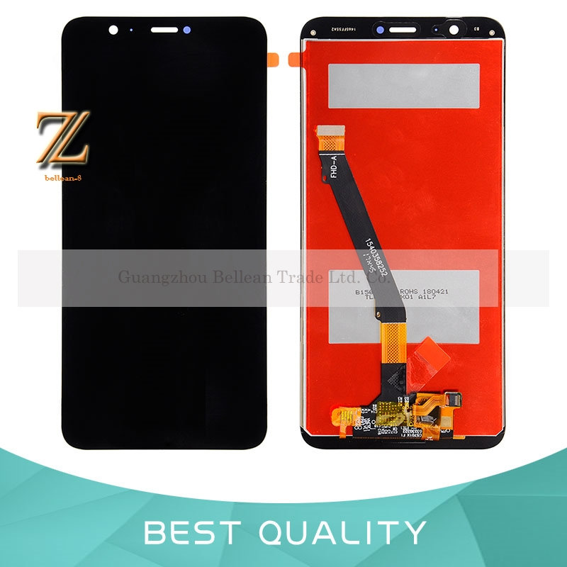 1pcs 5.65'' For Huawei P Smart LCD Display Touch Screen Digitizer Glass Panel Assembly Replacement For Huawei Enjoy 7S Display