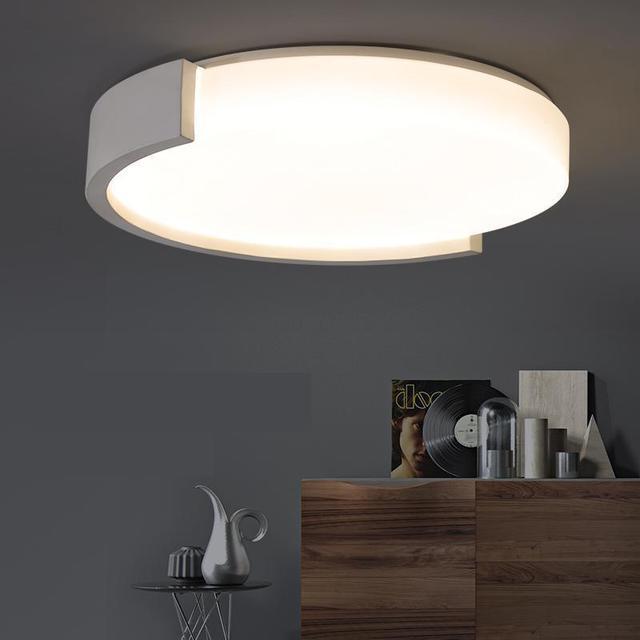 Art Salon Round Led Luminaria Ceiling Lights  Bedroom Living Room Dining Room Kitchen Balcony Book Lamp Energy Saving work Lamps