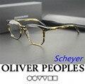 Не бремя оптические широкие очки кадр oliver peoples OV5277U Scheyer очки кадр óculos де грау omalley очки кадры