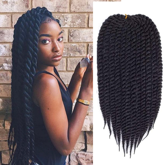 Havana Twist Crochet Braiding Hair 12strandspack Synthetic Hair