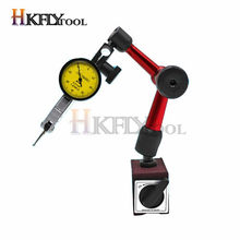 Mini soporte Universal Flexible con indicador de Dial de 0,8mm, soporte de Base magnética, soporte de calibre de corrección magnética