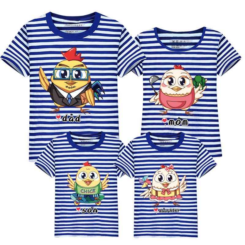 HTB16wOPbgMPMeJjy1Xbq6AwxVXaZ - Family Matching Clothes Leisure New Summer Cotton T-shirts Boy for Father Mother Son Daughter Family Matching Outfits Look