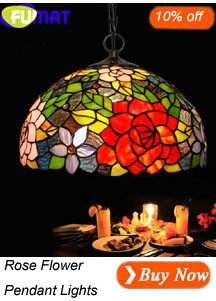 Rose Flower Pendant Light