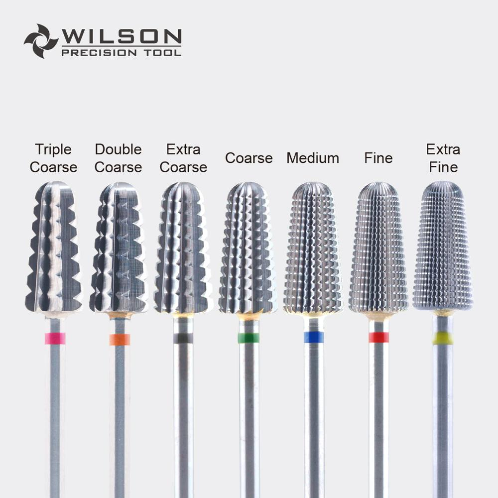 Volcano Bit(Fastest Remove Acrylics&Gels)-One Directional(for Right Hand Use Only)-WILSON Carbide Nail Drill Bit
