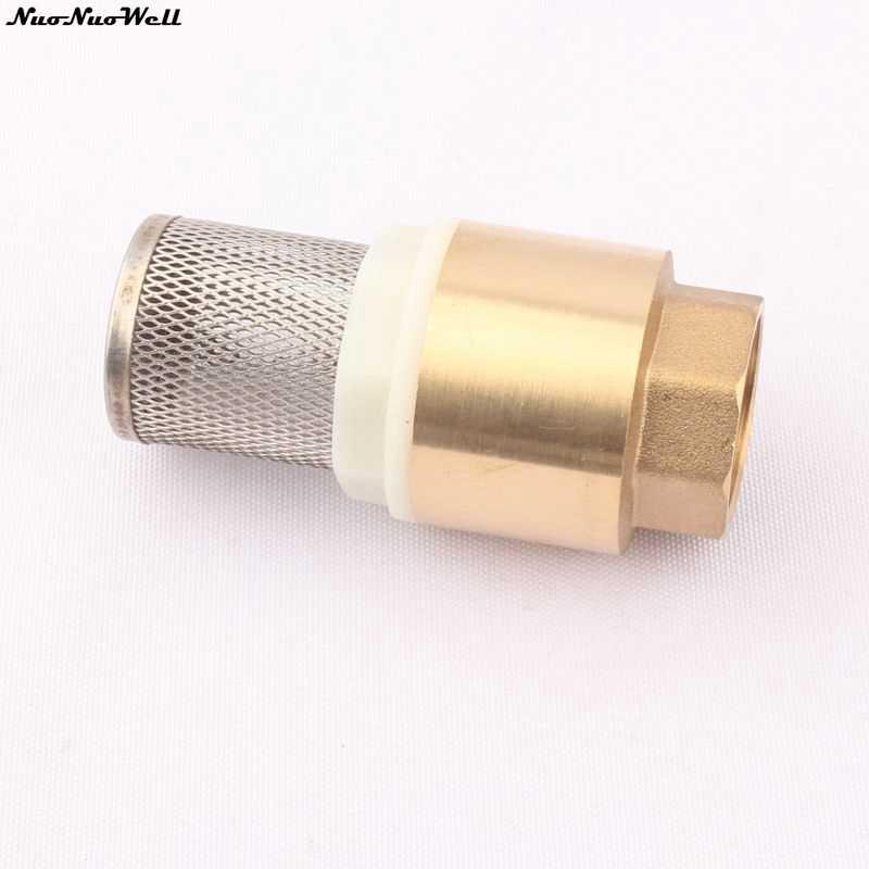 """3/4 """"めねじ真鍮チェックバルブでフィルターネット配管パイプ継手金属管継手コネクタガーデン用品"""