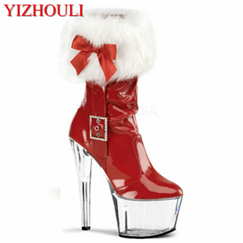 2018 hot-selling classic 7 inch short boots 17cm high heel boots platform shoes thin heel ankle boots2018 hot-selling classic 7 inch short boots 17cm high heel boots platform shoes thin heel ankle boots