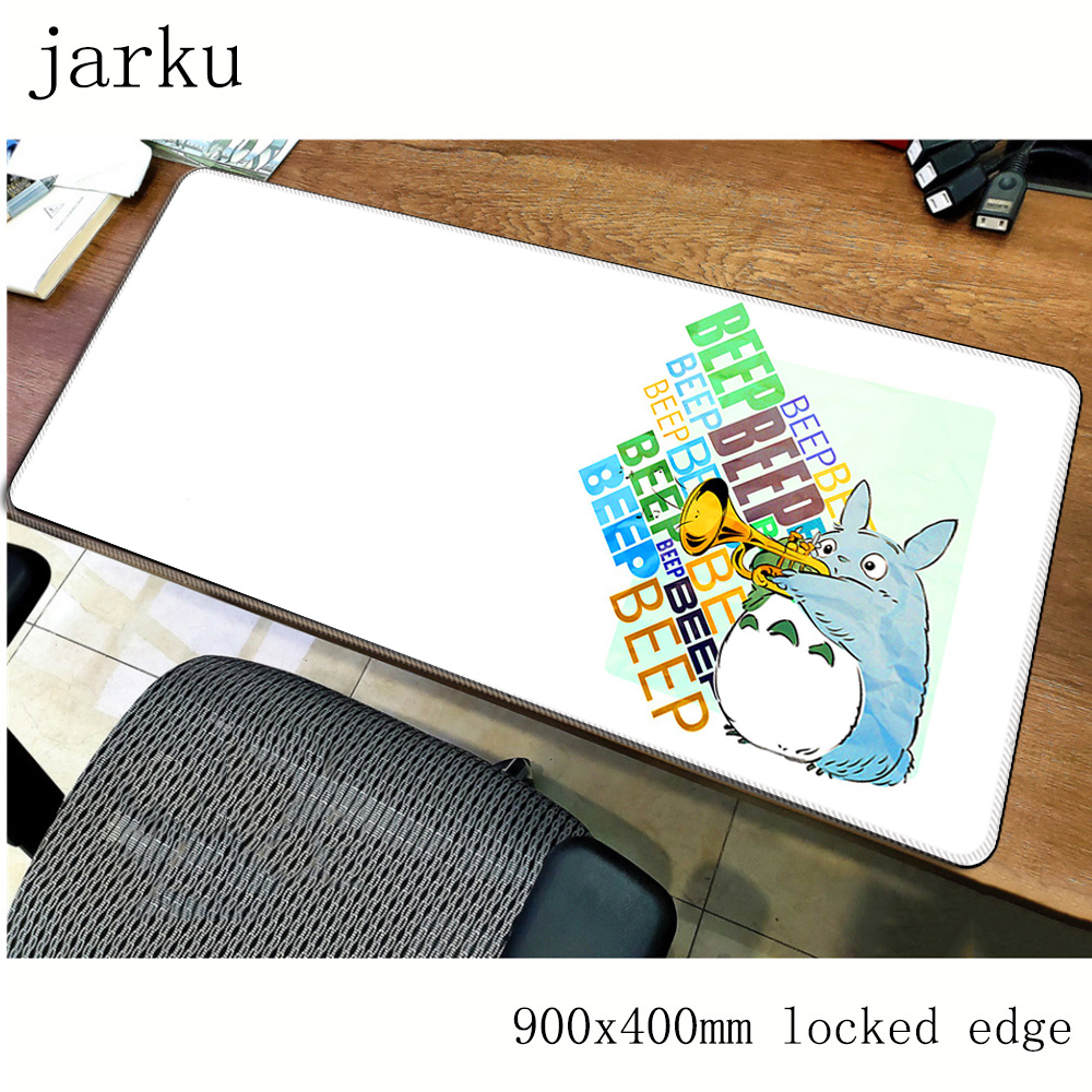 Totoro Mouse Pad Gamer 900x400mm Notbook Mouse Mat Gel Large Gaming Mousepad HD Pattern Pad Mouse PC Desk Padmouse Accessories