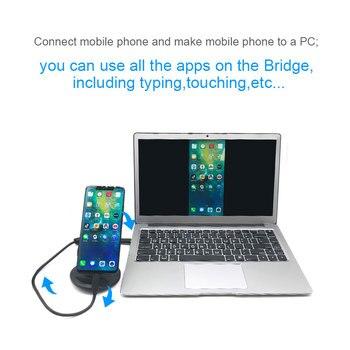 Caricatore Per Laptop Apple | Collegamento Viso Del Computer Portatile-Stile Del Bacino Di Alimentazione Del Caricatore Del Bacino Di 10000 MAh Accumulatori E Caricabatterie Di Riserva Più Grande Dello Schermo Trackpad Per USB Tipo Di Telefono Cellulare -c HDMI Hub