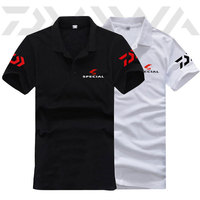 High Quality Breathable Men Polo T shirt Anti uv Camping Windproof Polyester Fishing Climbing Tee Tops