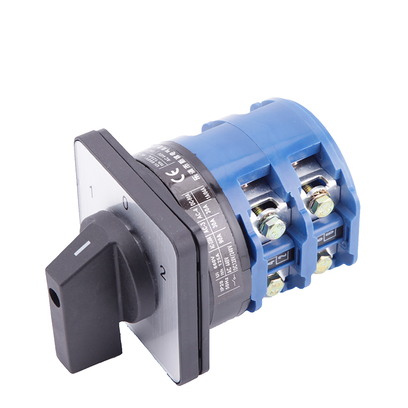 Universal Switch 125A 3Postions LW26-125 Changeover Control Rotary Cam Combination Switch changeover switch lw6 1 a028 10a 380v universal changeover combination switch one knots lw6