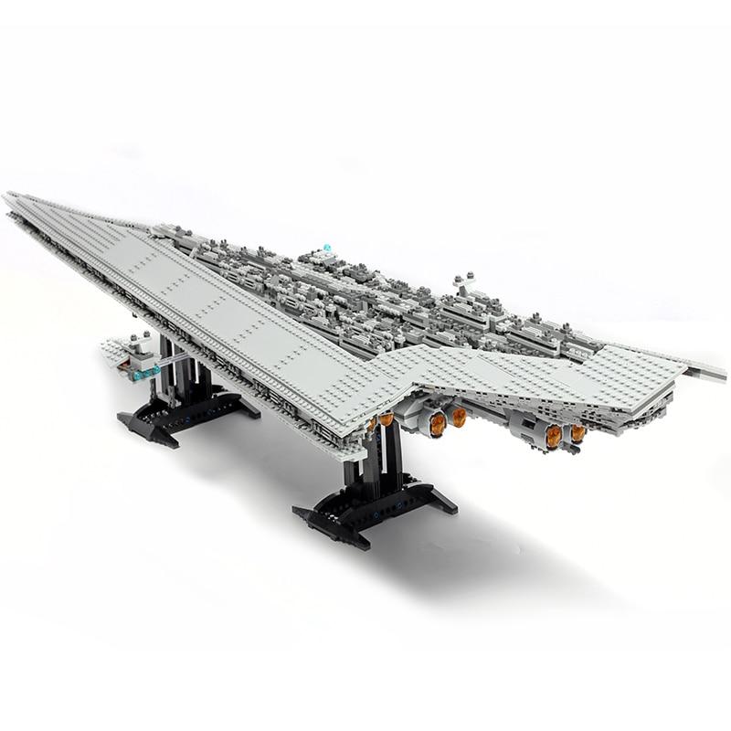 Lepinblocks Star Destroyer Building King Blocks Executor Star Ship Fighter Technic Star Wars 10221 10030 05028 Gift Bricks Toys-in Blocks from Toys & Hobbies    2