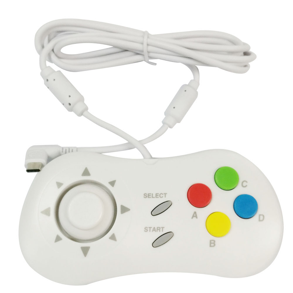 Мини-контроллер, мини-геймпад, джойстик + кнопки ABCD для neogeo