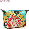 FLYING BIRDS! Women Cosmetic Bags brush bag Makeup Bag Cosmetic case Dumpling Large Package Waterproof MakeUp Bags cute LM3132fb
