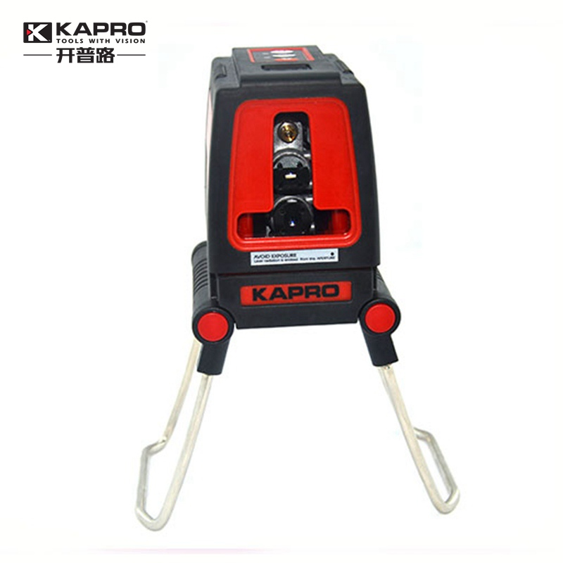 KAPRO Mini Infrared laser level 2-line high light cast line instrument Slash cross Laser Level laser cast line instrument marking device 5 lines the laser level