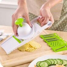 Multi Mandoline Gemüsehobel & Reibe Küche Dicer Schneider Kartoffel Karotten Dicer Salad Maker Assistent
