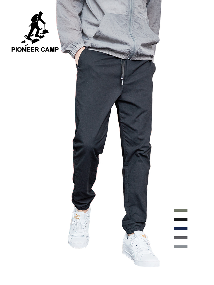 Pioneer Camp 2019 Summer Autumn New Casual Pants Men Cotton Slim Fit Fashion Trousers Male Brand Clothing For Man AXX901001
