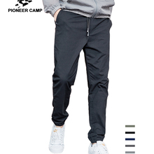 Pioneer Camp 2019 Summer Autumn New Casual Pants Men Cotton Slim Fit F