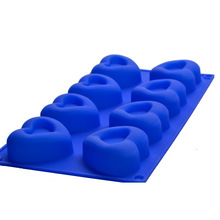 food grade heart shape soap mold silicone cake ice cube chocolate jelly