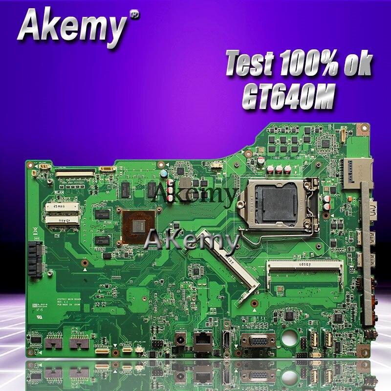 Akemy D'origine Par ASUS tout-en-un ET2701I ET2701 de bureau carte mère GT640M LGA1155 DDR3