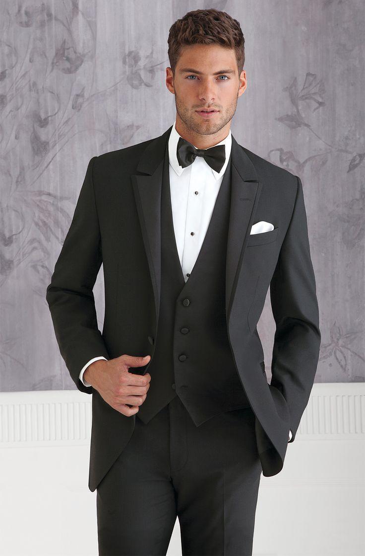 New Arrival 2016 Custume Made Black Men Suits Terno Slim ...