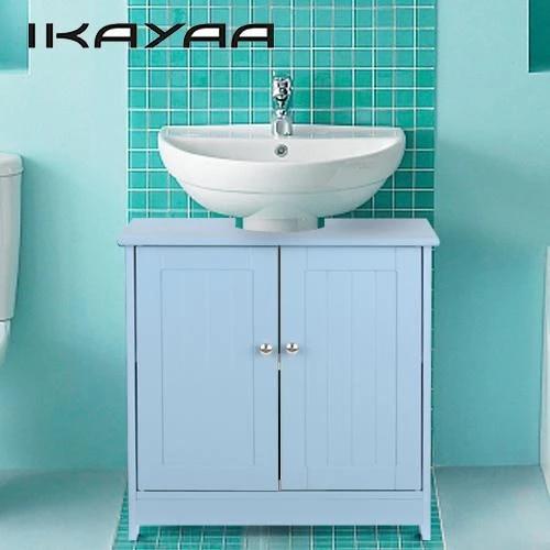 Ikayaa Modern Under Sink Storage Cabinet With Doors Bathroom Vanity Furniture 2 Layer Organizer Storage Cabinet Cabinet With Sinkorganizer Cabinet Aliexpress