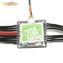 Racerstar RS20Ax4 20A 4 in 1 Blheli_S Opto ESC 2-4S Support Oneshot42 Multishot for FPV Racer