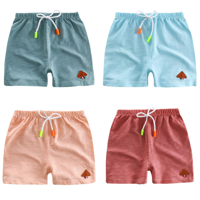 Summer Casual Boys   Shorts   Children Cotton Beach Wear Loose Bottom   Short   Trousers