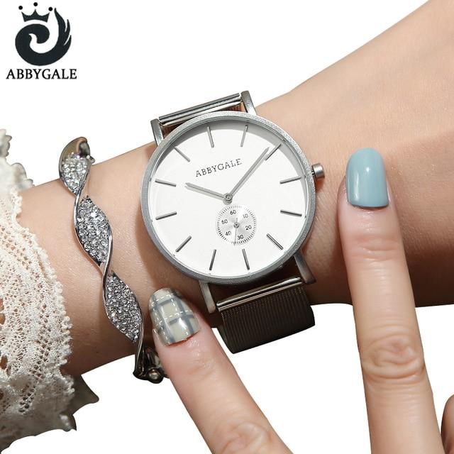 Unique Silver Watch Women 2018 Top Brand Elegant Design Hot Sale