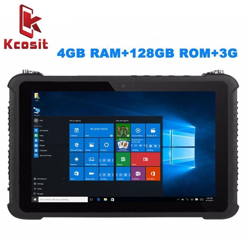 Industrial Rugged Tablet PC Waterproof Dustproof  Mobile Computer Windows 10 Home 10.1